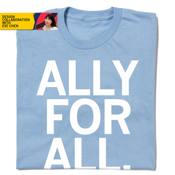 Ally For All Eve Chen Blue Shirt Standard