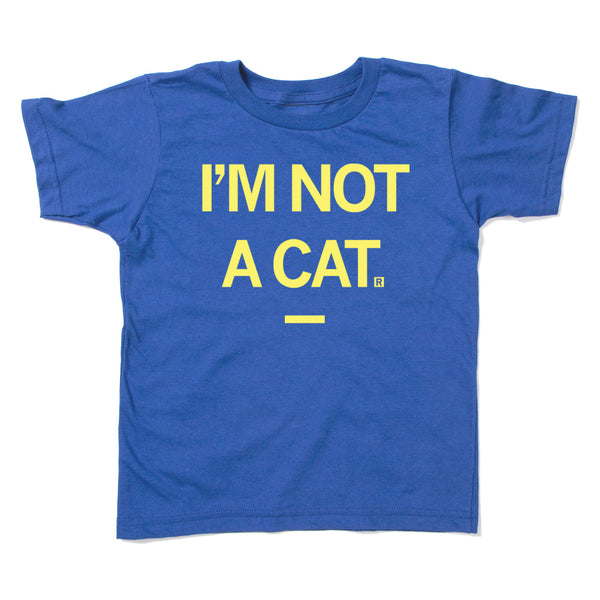 I'm Not A Cat Zoom Kids Shirt