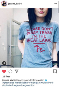 Don't Trash The Great Lakes (R)
