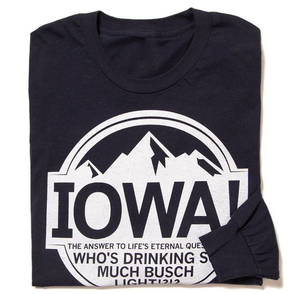 Iowa: Light Beer Long Sleeve