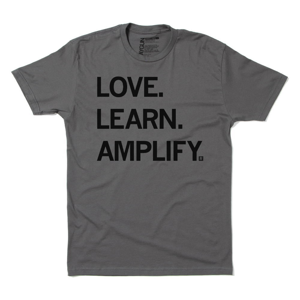 Love Learn Amplify Black Voices Shirt