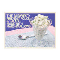 Salad With Marshmallows Photo Postcard