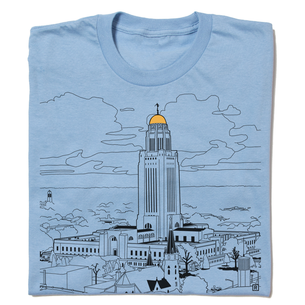 Nebraska Capitol Lincoln Shirt