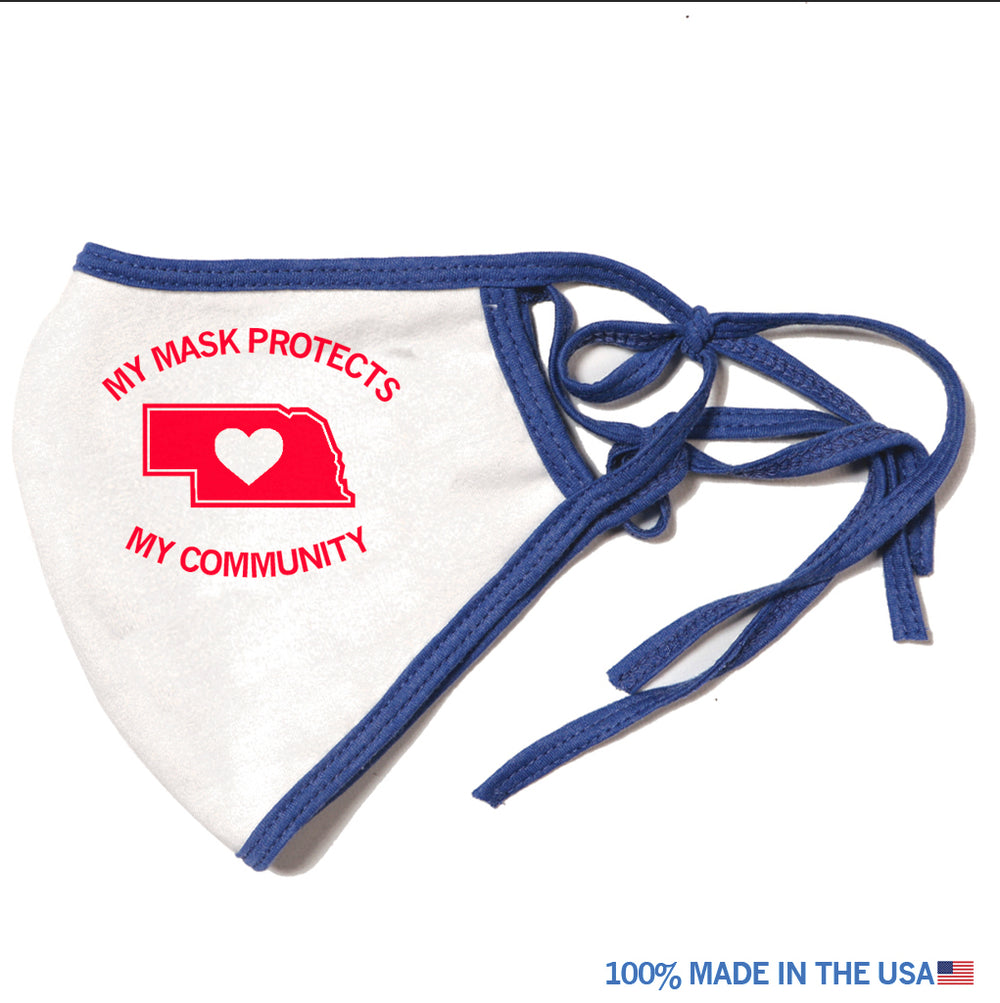 NE My Mask Protects My Community Mask