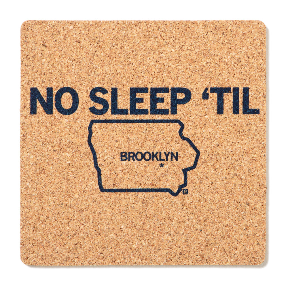 Brooklyn Cork Coaster