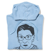 RBG Ruth Bader Ginsburg Face Pullover Hoodie