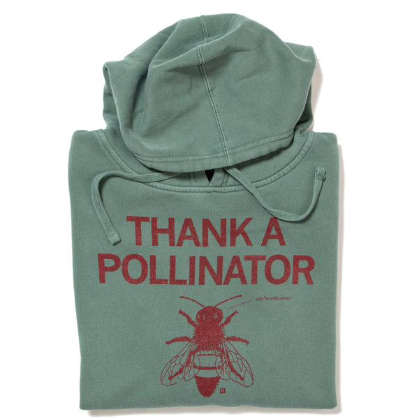 Thank A Pollinator Pullover Hoodie