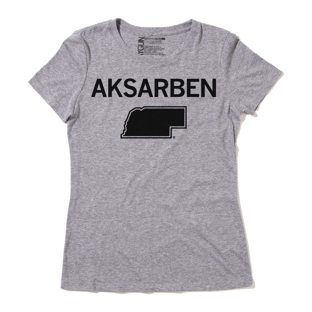 Nebraska Spelled Backward Aksarben Shirt
