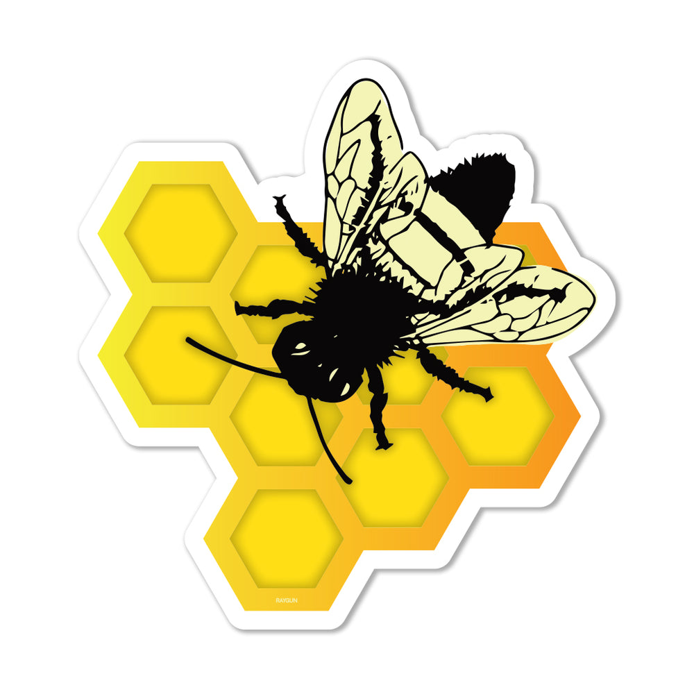 Bee The Change Graphic Sticker