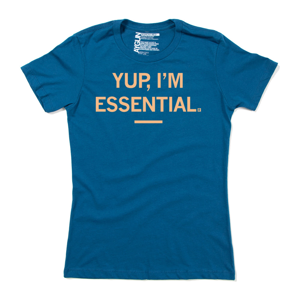 Yup I'm Essential Coronavirus Shirt