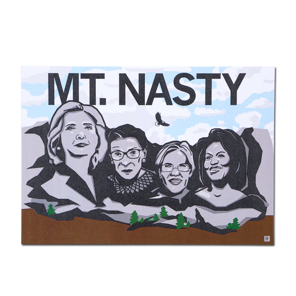 Mount Nasty Postcard
