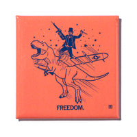 Freedom Metal Magnet