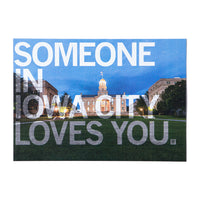 Someone In Iowa City Loves You Photo Postcard