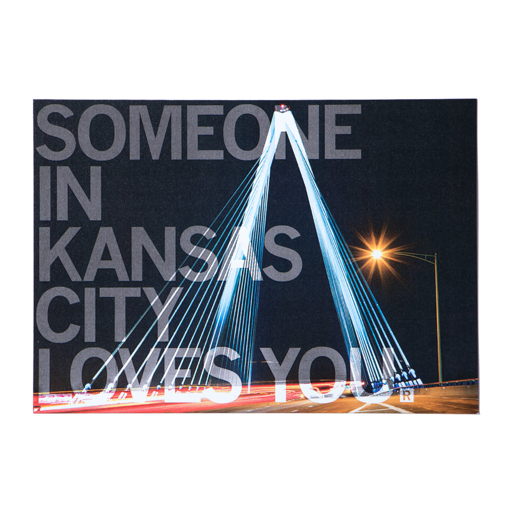 Someone In Kansas City Loves You Photo Postcard