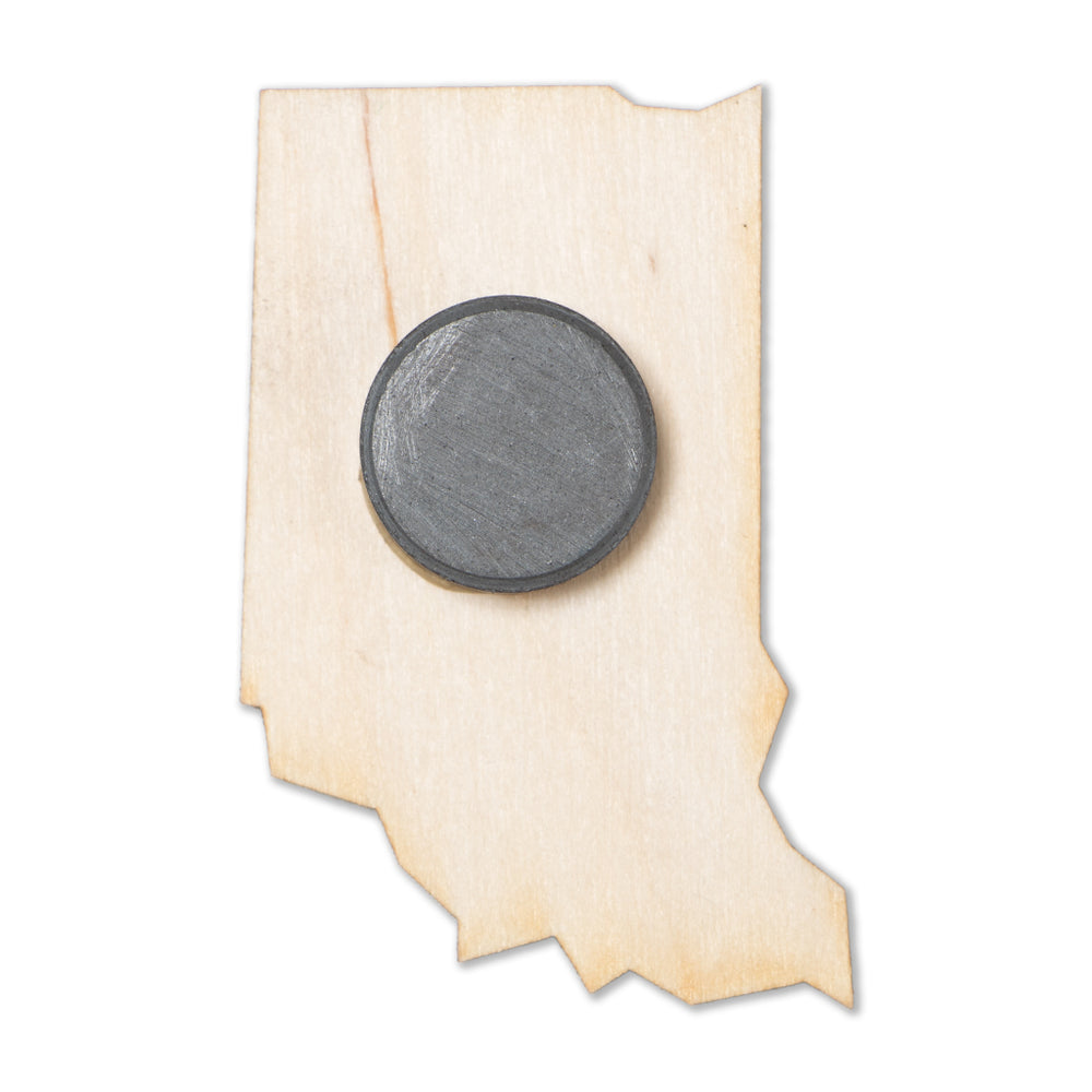 Indiana Wood Magnet