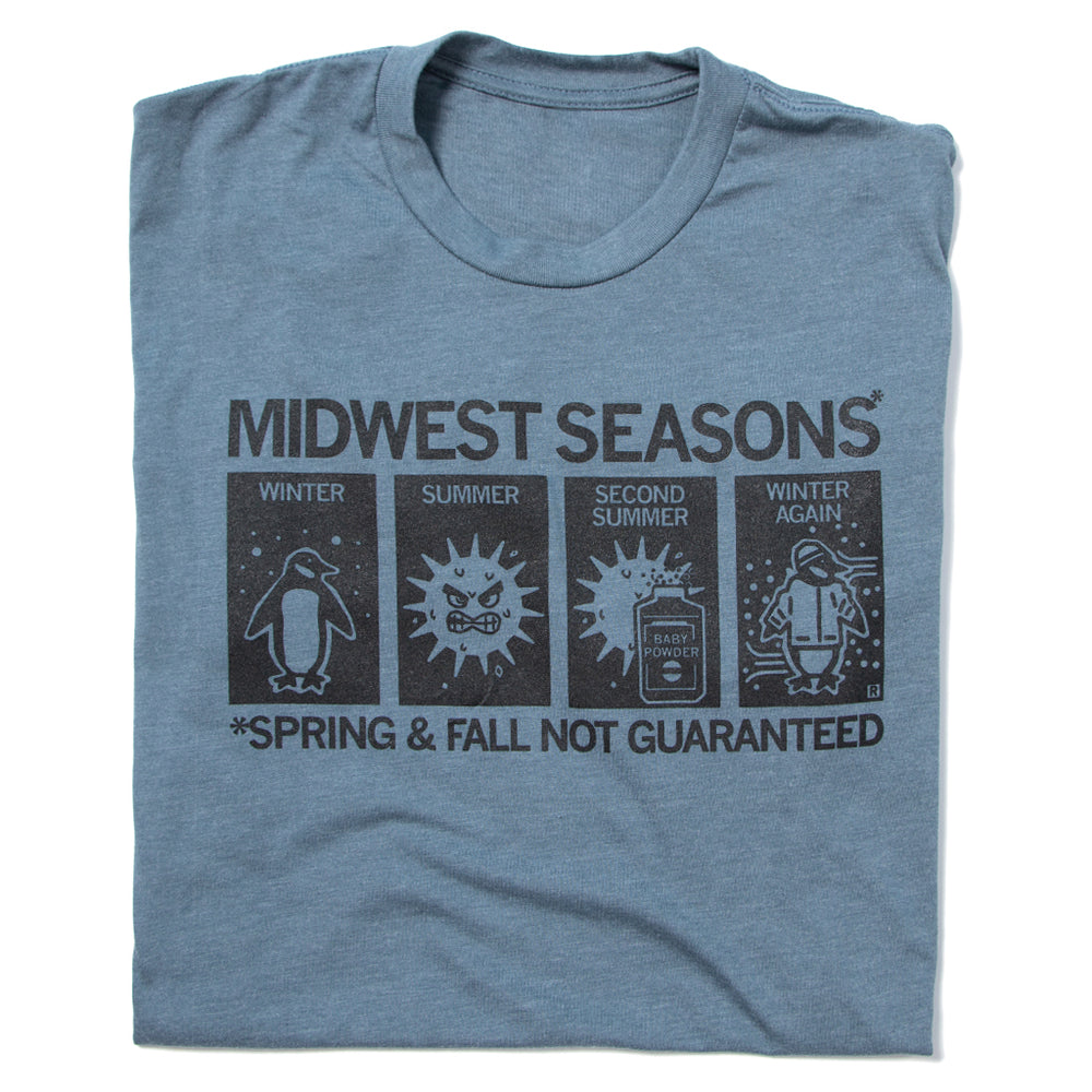 Midwest Seasons: Spring And Fall