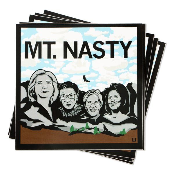 Mt. Nasty Color Sticker