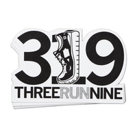 3Run9 Die-Cut Sticker