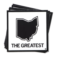 The Greatest Ohio State Outline Sticker