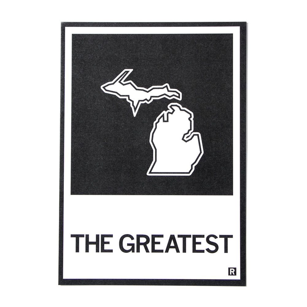The Greatest Michigan State Postcard