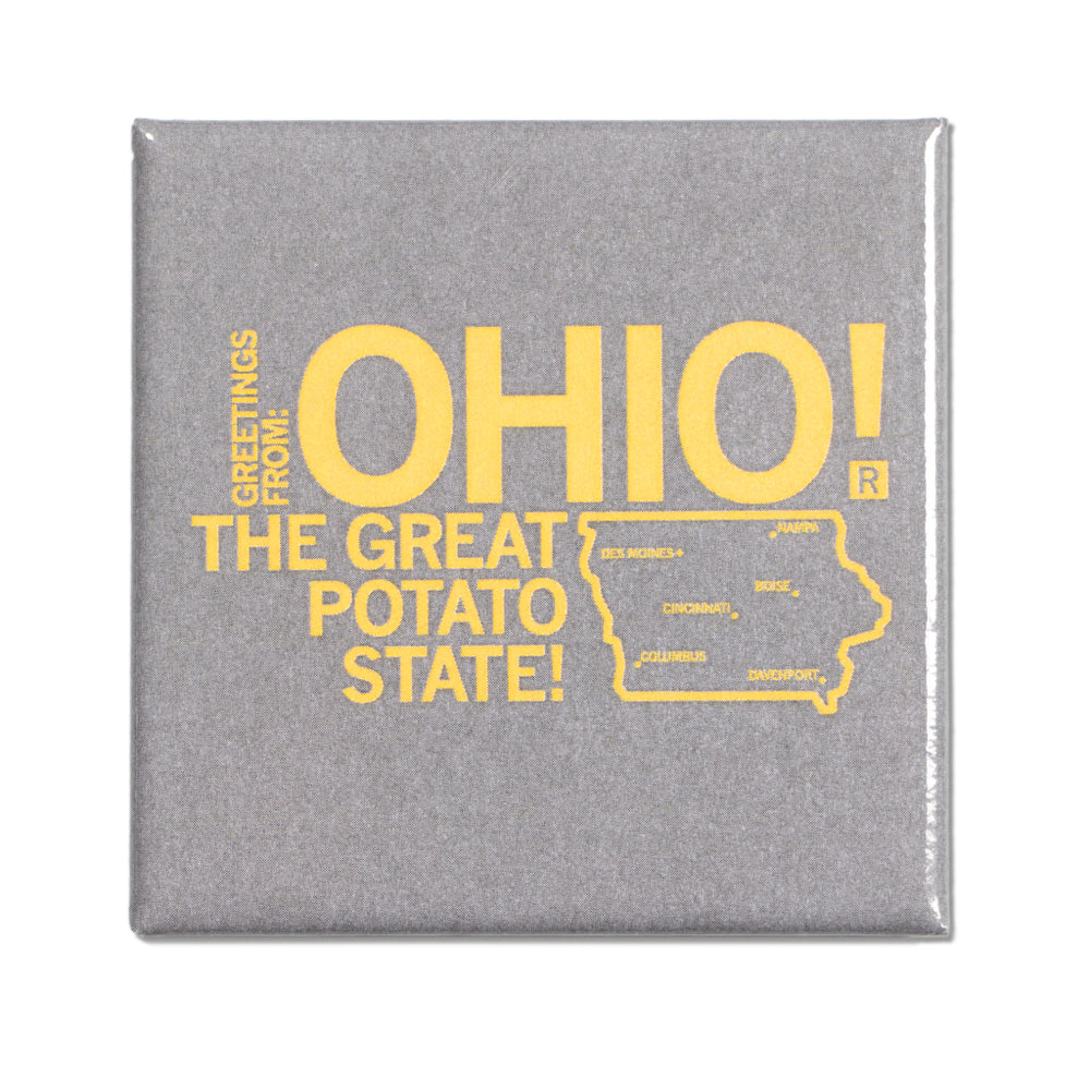 Ohio Metal Magnet