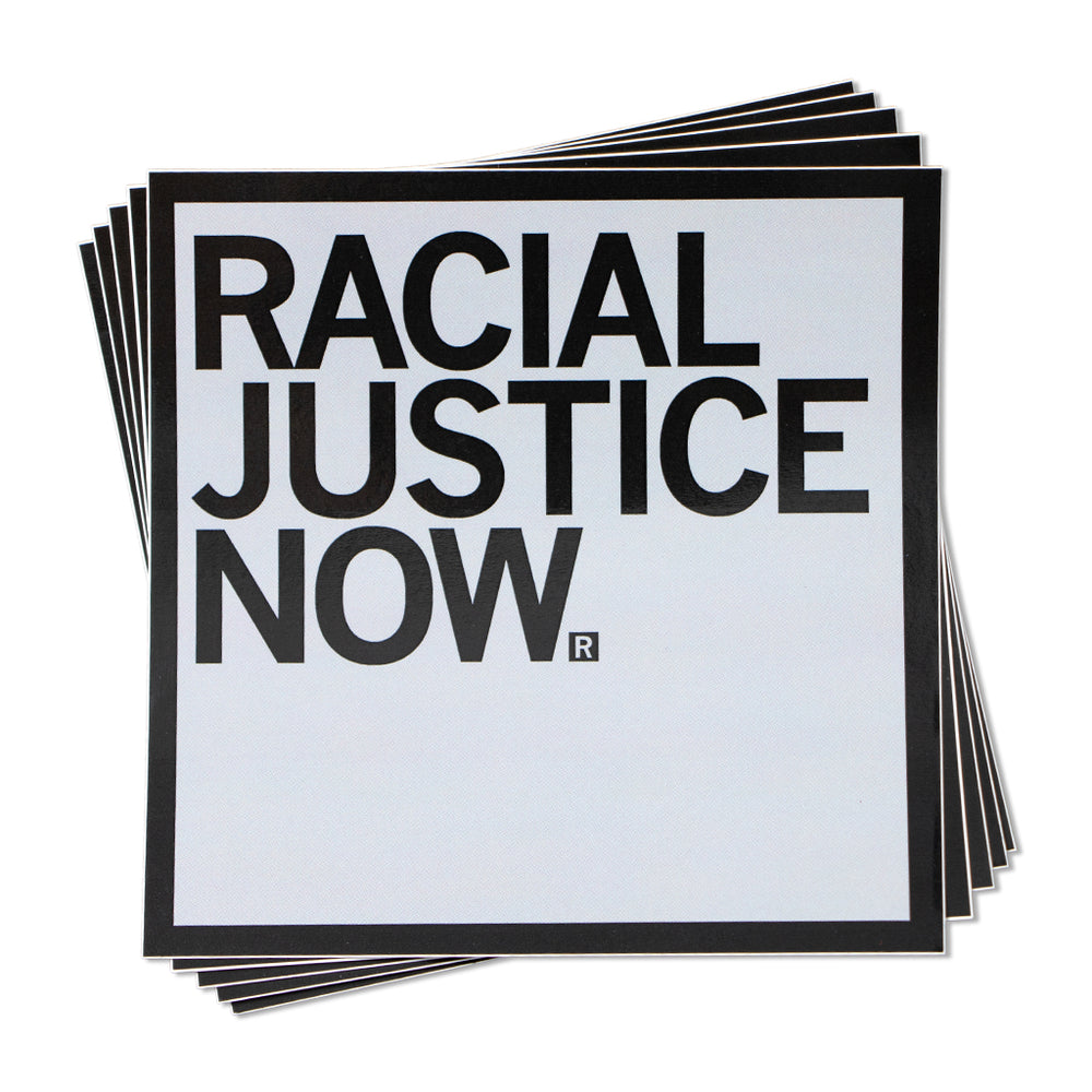 Racial Justice Now Text Sticker