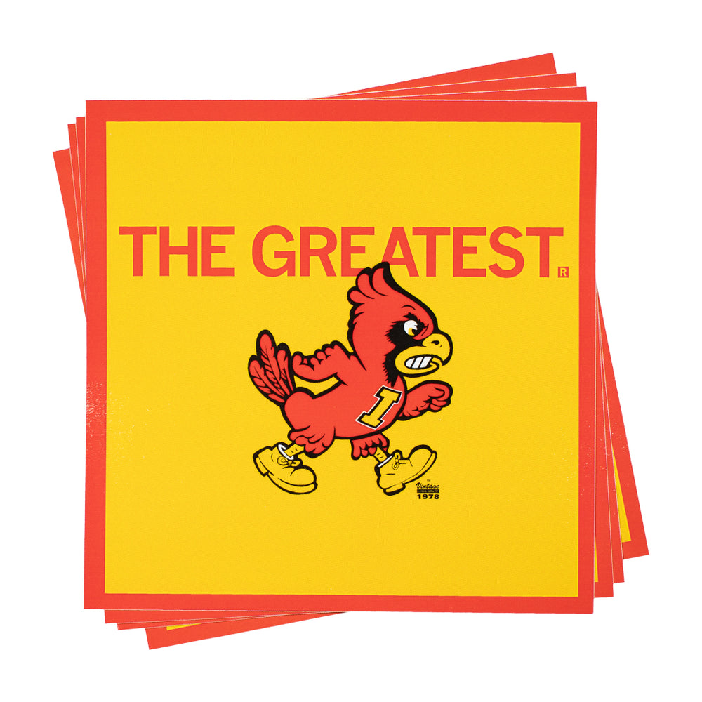 The Greatest ISU Cy Sticker