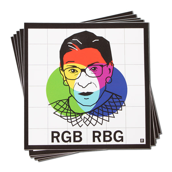 RGB RBG Face Sticker