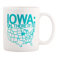 Iowa There It Is Mug