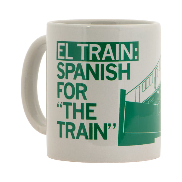 El Train Spanish For The Train Graphic Mug