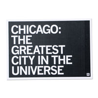 Chicago: Greatest City In The Universe Text Postcard