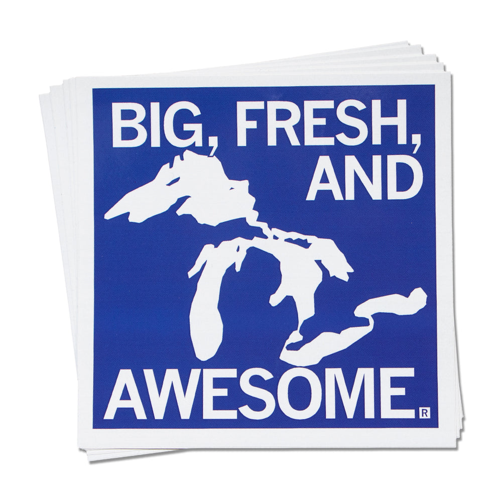 Big, Fresh, and Awesome Sticker