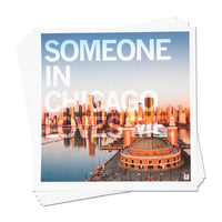 Someone In Chicago Loves Me Photo Sticker