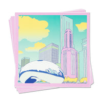 Cloud Gate 80s Bean Sticker