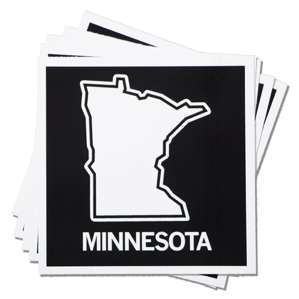 MN State Outline Sticker