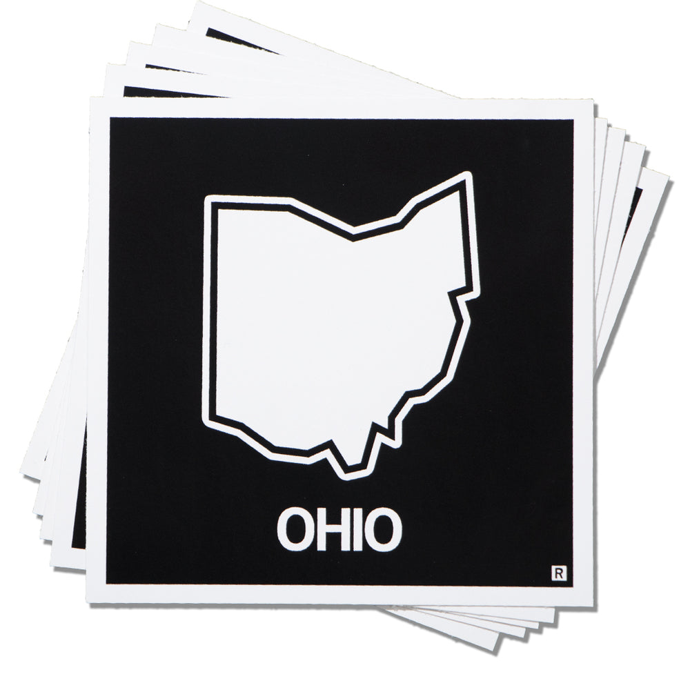 Ohio State Outline Sticker