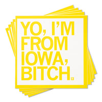 Yo, I'm From Iowa, Bitch Sticker