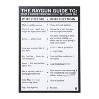 Raygun Guide Midwest Translation Postcard