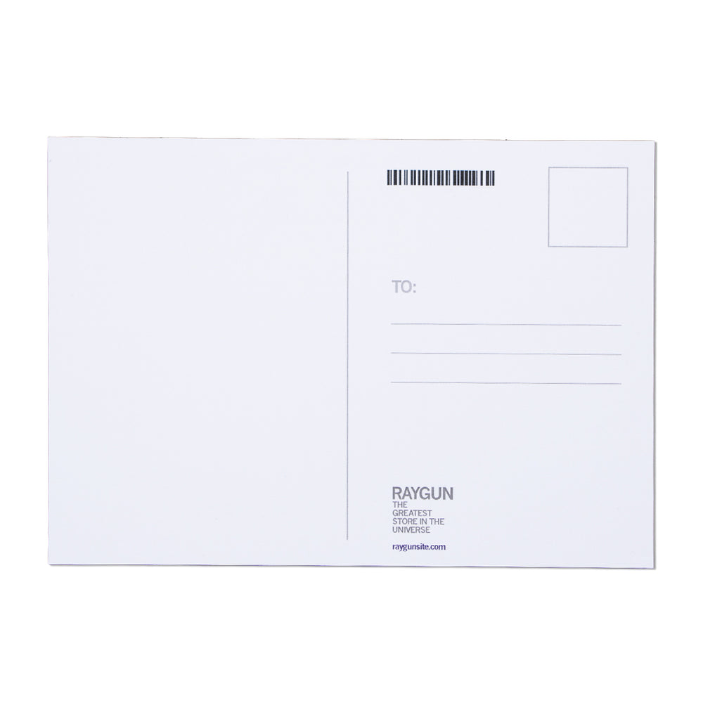 DSM Map Postcard - White