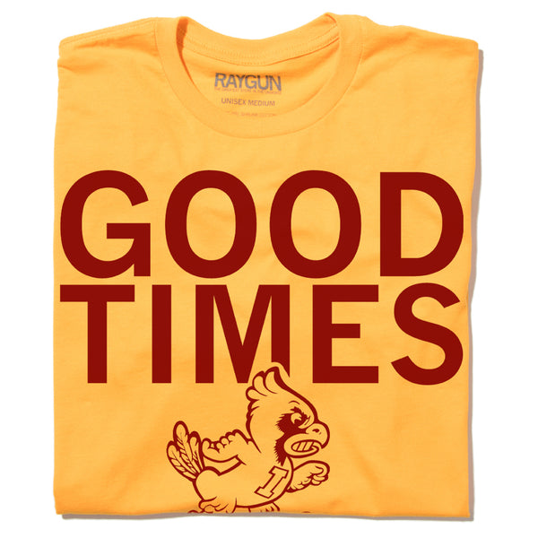 Iowa State Football Good Times T-Shirt