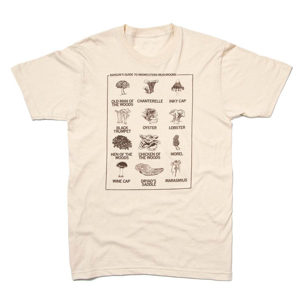 Mushrooms of the Midwest T-Shirt