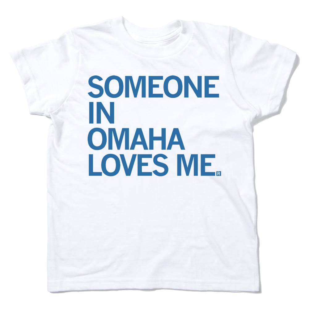 Someone In Omaha Loves Me Kids Shirt
