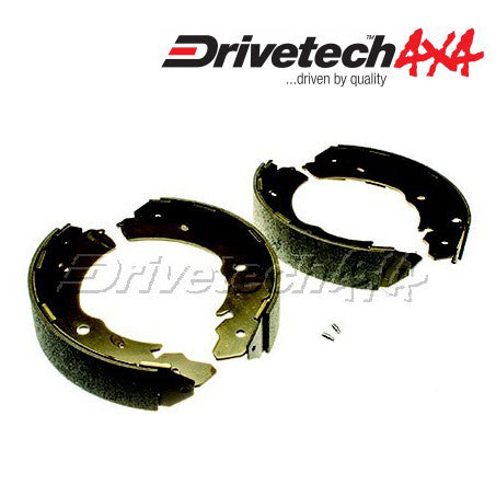 DRIVETECH 4X4 BRAKE SHOES TO SUIT MITSUBISHI TRITON ML/MN