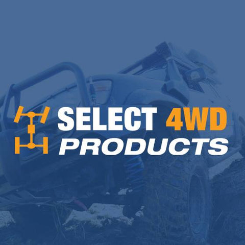 SELECT 4WD - OVERLAND FRONT SHOCKS (PAIR) - HOLDEN JACKAROO 1992-ON