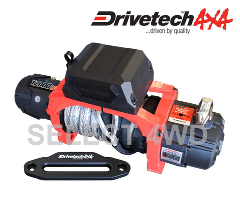DRIVETECH 4X4 12,000LB DUAL SPEED WINCH