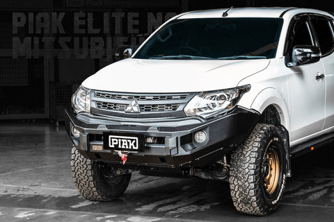 PIAK ELITE NON-LOOP WINCH BAR- SUIT MITSUBISHI MQ TRITON