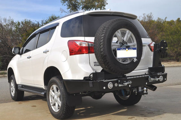 Outback Accessories Twin Wheel Carrier Ford Everest