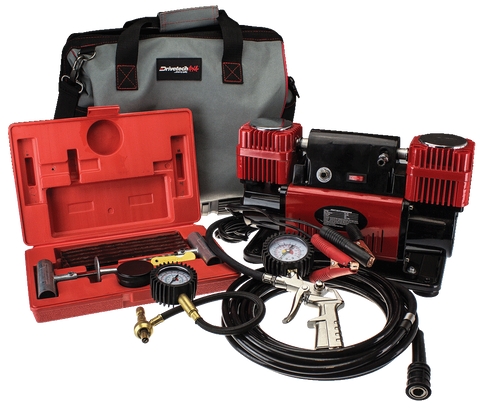 DRIVETECH 4X4 180L/MIN AIR COMPRESSOR KIT