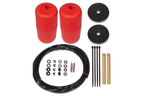 "POLYAIR RED 2 "" RAISED AIRBAG KIT- Toyota Landcruiser, HZJ105R Wagon Non IFS (1998 - 2000)"