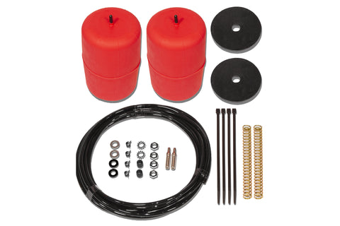 POLYAIR RED STANDARD HEIGHT AIRBAG KIT- Toyota Landcruiser, HZJ105R Wagon Non IFS (1998 - 2000)